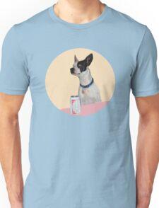 A dog walks into a Bar Unisex T-Shirt