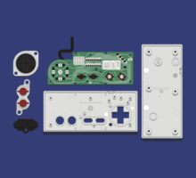 NES Controller Teardown by axletee