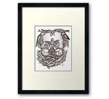Expectations of the human mind Framed Print