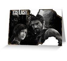The Last of us Postcard Greeting Card