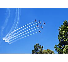 Roulettes in Formation Photographic Print