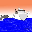 Japan banned from whale hunting by David Stuart