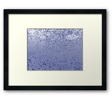 Blue Abstracts Framed Print
