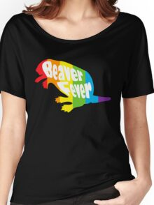 Beaver Fever Lesbian Funny Women's Relaxed Fit T-Shirt