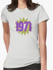 Vintage Look 1970's Funky Year Graphic 1971 T-Shirt