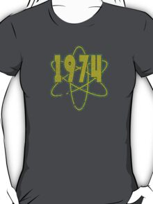 Vintage Look 1970's Funky Year Graphic 1974 T-Shirt