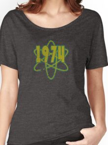 Vintage Look 1970's Funky Year Graphic 1974 Women's Relaxed Fit T-Shirt