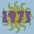 Vintage Look 1970's Funky Year Graphic 1975 by VintageSpirit