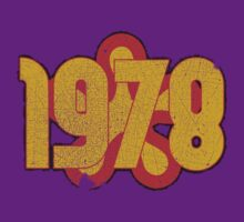 Vintage Look 1970's Funky Year Graphic 1978 by VintageSpirit