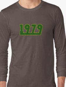Vintage Look 1970's Funky Year Graphic 1979 Long Sleeve T-Shirt