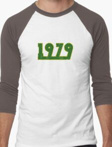 Vintage Look 1970's Funky Year Graphic 1979 Men's Baseball ¾ T-Shirt