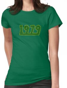 Vintage Look 1970's Funky Year Graphic 1979 Womens Fitted T-Shirt