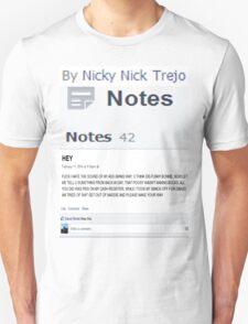 Notes T-Shirt