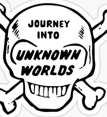 Journey Into Unknown Worlds Sticker