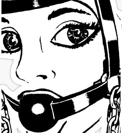 BDSM HH2 Trainer Head Harness (ZOOM) Sticker