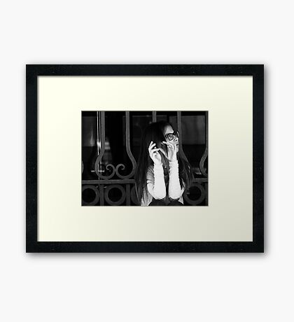The Invisible Flute Framed Print