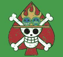 Spade Pirates Jolly Roger Baby Tee