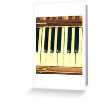 Musical Keys Greeting Card