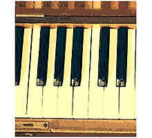 Musical Keys Photographic Print