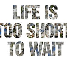 Life is too short to wait by ak4e