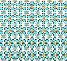 Luxury Flower Pattern by DFLCreative