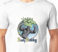 Vegan Bodybuilding Unisex T-Shirt