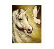 Purity and Peace Art Print