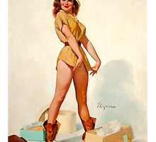 Pin up Hunter by welovevintage