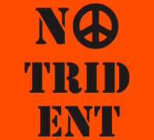 No Trident Scottish Independence T-Shirt by simpsonvisuals