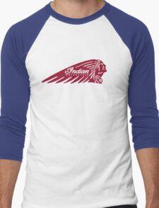 The Indian Men's Baseball ¾ T-Shirt