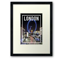LONDON FRAME Framed Print