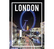 LONDON FRAME Photographic Print