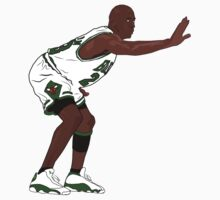 Ray Allen XIII (White Jersey) by nineone