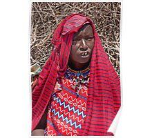 Masai Finery Poster