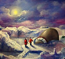 UFO Exposed Due to Global Warming by Randy  Burns