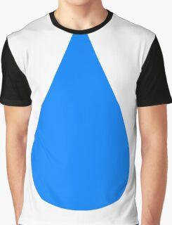 Water Drop Graphic T-Shirt