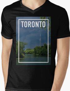 TORONTO FRAME Mens V-Neck T-Shirt