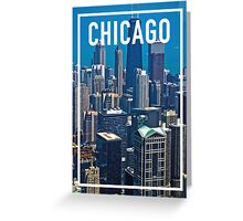 CHICAGO FRAME Greeting Card