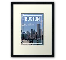 BOSTON FRAME Framed Print