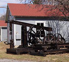 Antique Drilling Pumps by vigor
