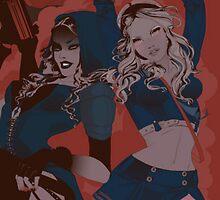 Spice Girls - Sucker Punch inspired by xLayerCake