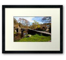 Huckworthy Bridge, Walkhampton, South Devon Framed Print