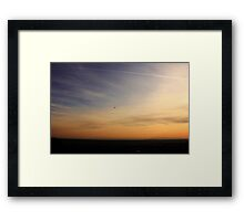 Dedicated to the PAST, Present and Future youth. On Top of My World Sunset Boise Idaho~2014 Framed Print