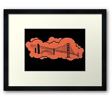 Golden Gate Bridge San Francisco Framed Print