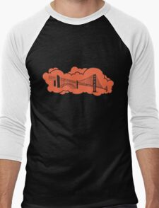 Golden Gate Bridge San Francisco Men's Baseball ¾ T-Shirt