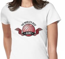 The World's Best Aunt Womens Fitted T-Shirt