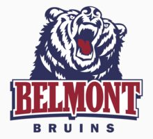 "College University ""Belmont Bruins"" Sports Baseball Basketball Football Hockey by artkrannie"