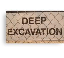deepest love / / I dig Canvas Print