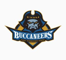 "College University ""East Tennessee State Buccaneers"" Sports Baseball Basketball Football Hockey by artkrannie"