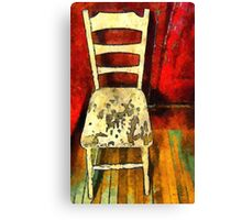 The Cream-Colored Chair Canvas Print